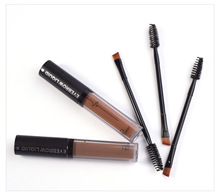 Brand Eyebrow Enhancers Brush Kits Waterproof Henna Eyebrow Gel Black Brown Pigments Liquid Eye Brow Tattoo Tint Makeup Eyebrows