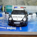 Brand New KINGSMART 1/36 Scale 2010 P-0rsche 911 GT3 RS Police Edition Diecast Metal Pull Back Car Model Toy For Gift/Kids