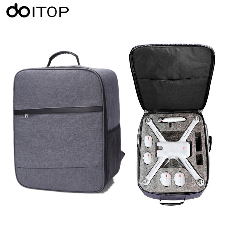 DOITOP For Xiaomi Mi Drone Backpack Outdoor Waterproof Drone Bag Professional Handbag For Xiaomi Drone 4K Quadcopter Accessories xiaomi 4k drone propeller front and back 4pcs