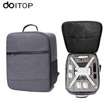 DOITOP Для Сяо mi БПЛА Drone рюкзак сумка для хранения Открытый Водонепроницаемый сумка для переноски сумки для сяо mi 4К RC quadcopter Аксессуары # сумка для квадрокоптера рюкзак сяоми сумка xiaomi drone 4k дрон сумка