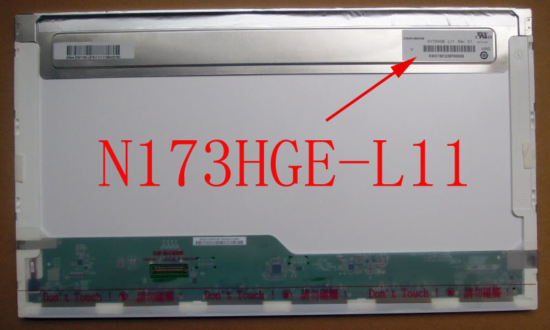 N173HGE-L11 N173HGE L11 17.3 Screen 40pin 1920 LVDS LCD Laptop Screen 1920*1080 FHD MATTE