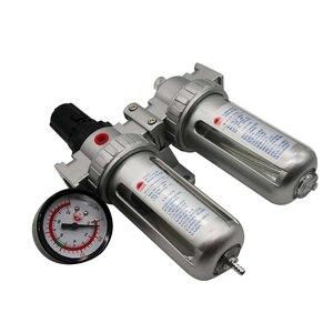 Image 5 - SFC 400 SFC 300 SFC 200 ضاغط الهواء فلتر الهواء منظم فاصل مياه زيتية فخ تصفية منظم صمام استنزاف التلقائي