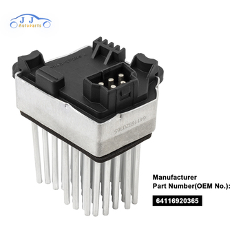 64116920365 Blower Motor Resistor AC Heater Fan for BMW E39 E53 E83 E46 E36 325 328 64116931680 64118380580 64116929540 image