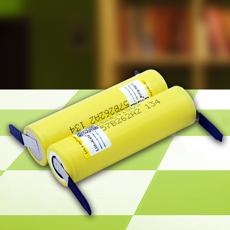 Liitokala 100% New Original HE4-N 18650 Rechargeable Lithium-ion Battery 3.6V 2500 MAh Battery 20A35A Discharge + DIY Nickel