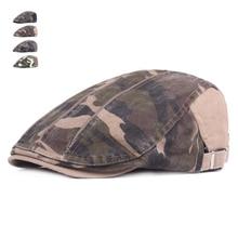 New Camouflage Beret Cap Outdoor Summer Hats for Men and Women Sun hat Gorras Planas Flat Caps Berets Boina Caps