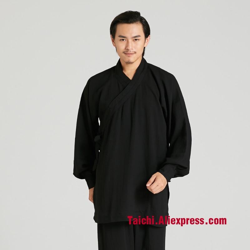 Martial Art Tai Chi  Taoist Robe Taoist Clothing  Taichi Men Practicing Uniforms