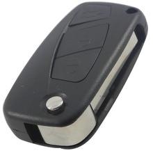 Дистанционный Ключ Оболочка Для Fiat Punto Ducato Stilo Panda Идея Doblo браво Без Ключа Фоб Случай 3 Кнопки Автосигнализации Крышка Корпуса С логотип