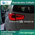 Carro LEVOU Luz Da Cauda do Freio de Estacionamento Traseiro Refletor Lâmpada para Kia Sportage 2010-2014 Luzes de Nevoeiro Parada Vermelho estilo do carro