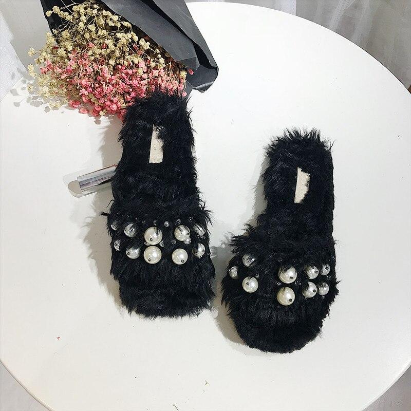 Zapatos As 2019 as Diapositivas Verano Aire Al Chaussures Mujer Libre De Pic Femme Vacaciones Perlas Pic Zapatillas 1qwrC1ZO