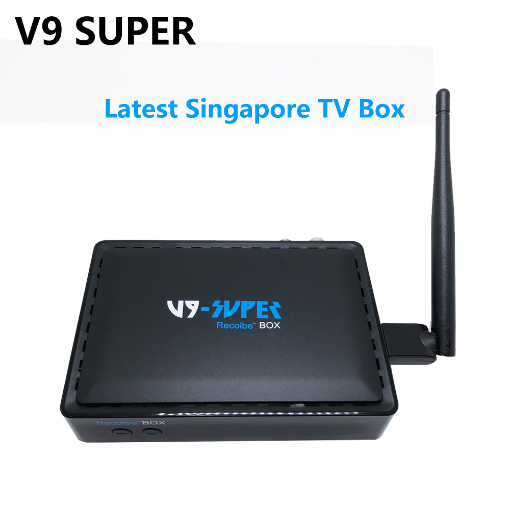 2018 Latest Starhub box Singapore tv box V9 super watch cable HD channel fm V8 golden 2xUSB port+USB WIFI Upgrade from v9 pro v8 mxm fan meeting singapore