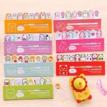 Mini Cute Kawaii Cartoon Panda Bear Rabbit Memo Pad Lovely Girl Sheep Pig Post It Note Korean Stationery Gift Free shipping 264