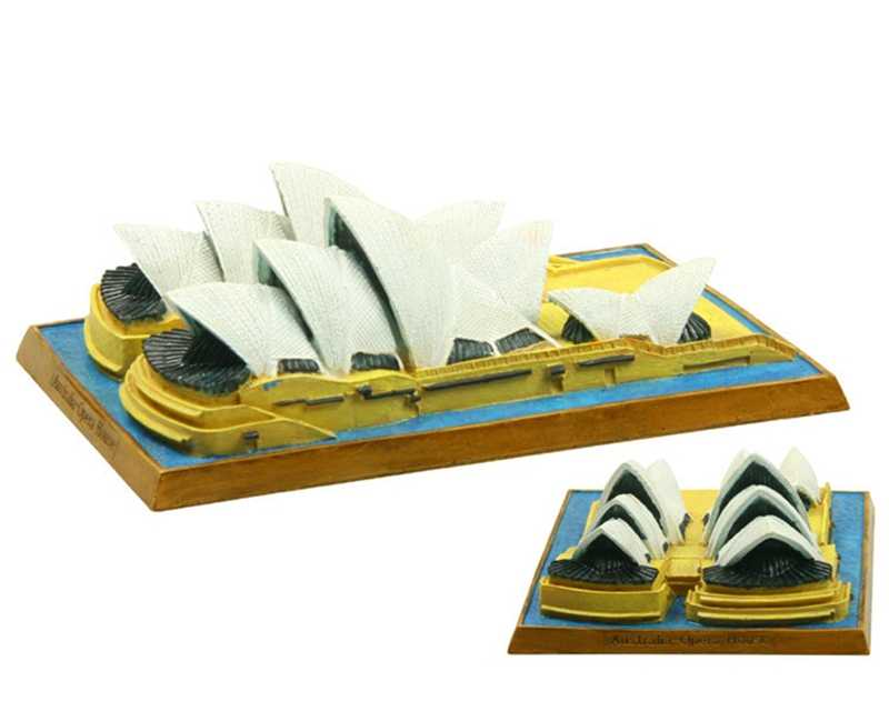 Australia Sydney Opera House Creative Resin Crafts World Famous Landmark Model Tourism Souvenir Gifts Collection Home Decor