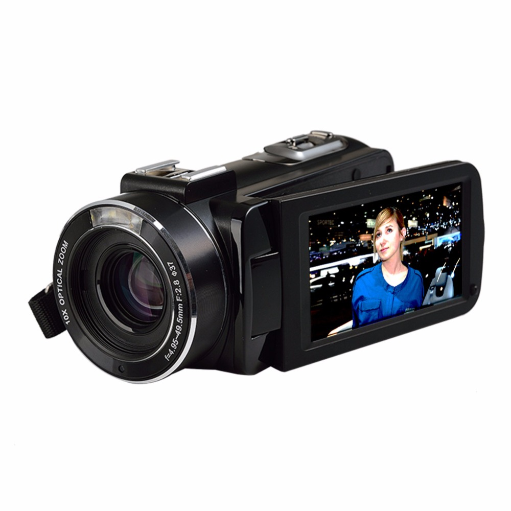 Marvie Mini Portabel WIFI Camcorder FHD 1080p@30 FPS Max 24.0 MP 16X Digital Zoom External Microphone Video Recorder DV 3