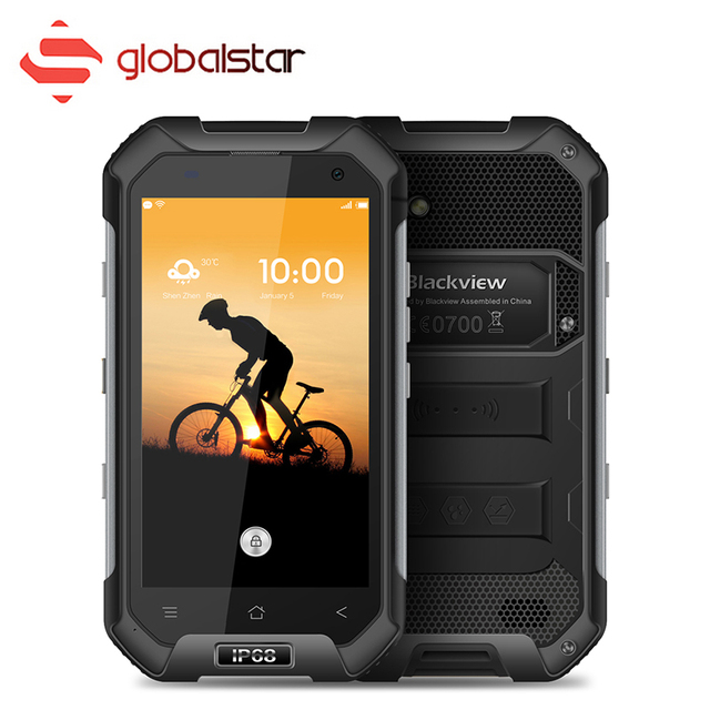 Blackview BV6000S Quad Core MT6735 4G 4200mAh Waterproof IP68 Shockproof Smartphone Android 6.0 2GB 16GB 13MP 4.7 Inch Cellphone