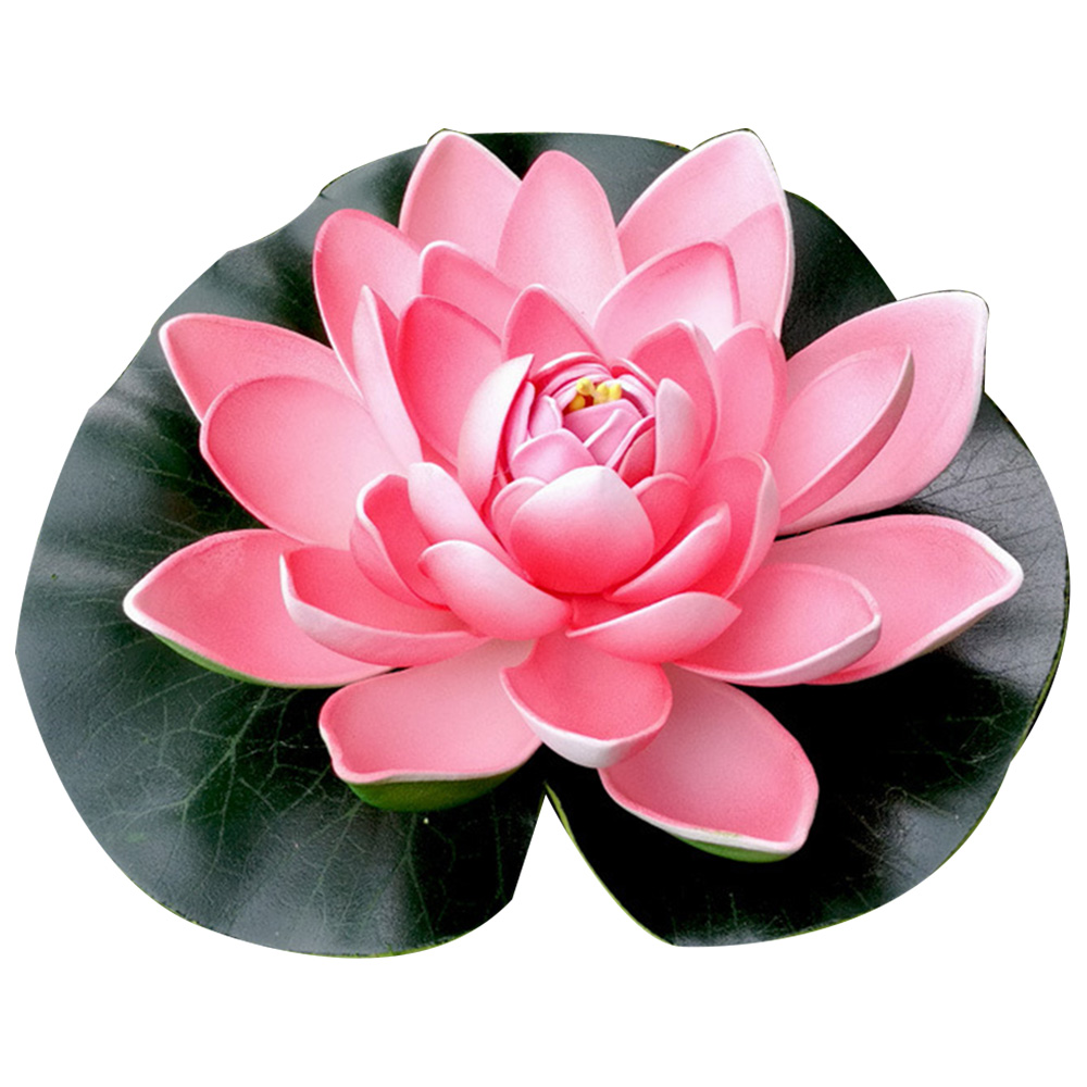 Real Touch Artificial Lotus Flower Foam Lotus Flowers Water Lily