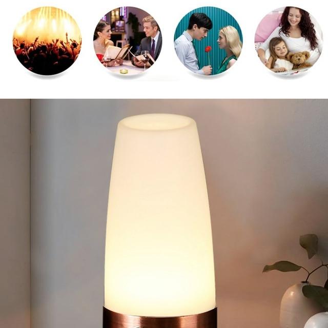 Led Table Lamp Night Lamp Light Human Body Induction Light Small