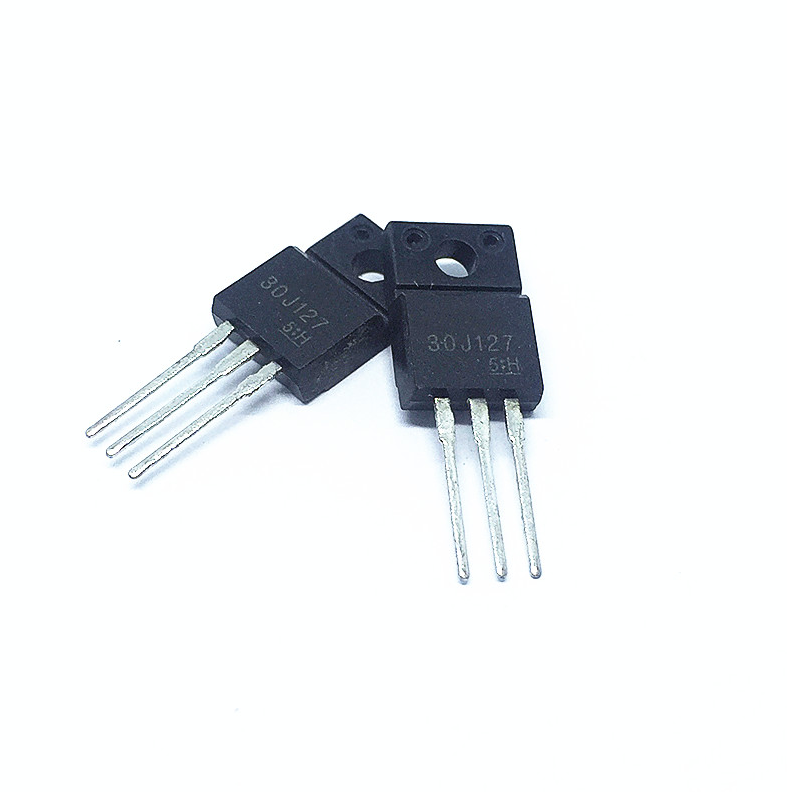 10pcs/lot 30J127 GT30J127 TO-220F LCD Common Triode Power Switch Tube FET 200A/600V