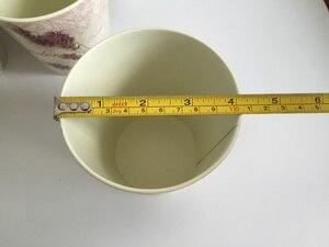 Image 4 - 6 Pz/lotto D10.5xH10CM Mini Vaso per la Decorazione di Cerimonia Nuziale Lavanda centro della tavola di Ferro vasi di fiori