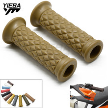 7/8 22cm Motorcycle Hand Grips Retro Handle Rubber Bar Gel Grip FOR HONDA CRF250X CRF230F SL230 XR230/MOTARD CRM250R/AR
