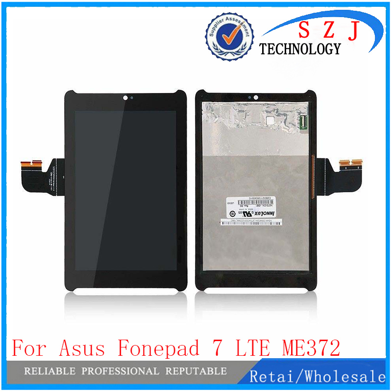 New 7 inch For Asus Fonepad 7 LTE ME372CG ME372 KOOE K00E LCD Display With Touch Screen Digitizer 5470L FPC-1 Free shipping 7 inch for asus fonepad 7 me372cg lcd display touch screen with digitizer assembly complete free shipping