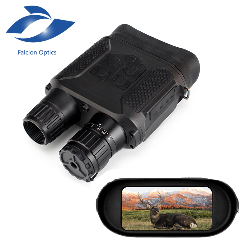 7X31 Digital Night Vision Binocular for Hunting W/ 2  TFT Display LCD HD Infrared IR Camera Camcorder 1300ft/400M Viewing Range осциллограф siglent 8 tft lcd 70 2 sds2072 28