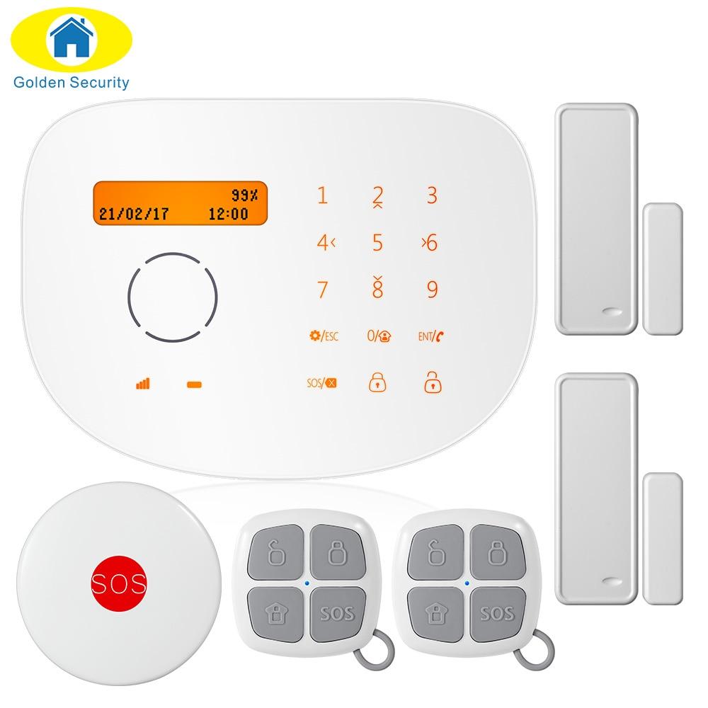 ФОТО GSM Alarm RFID Disalarm Autodial Home Security Alarm System+iOS App/Android App PIR Motion Sensor Alarmes