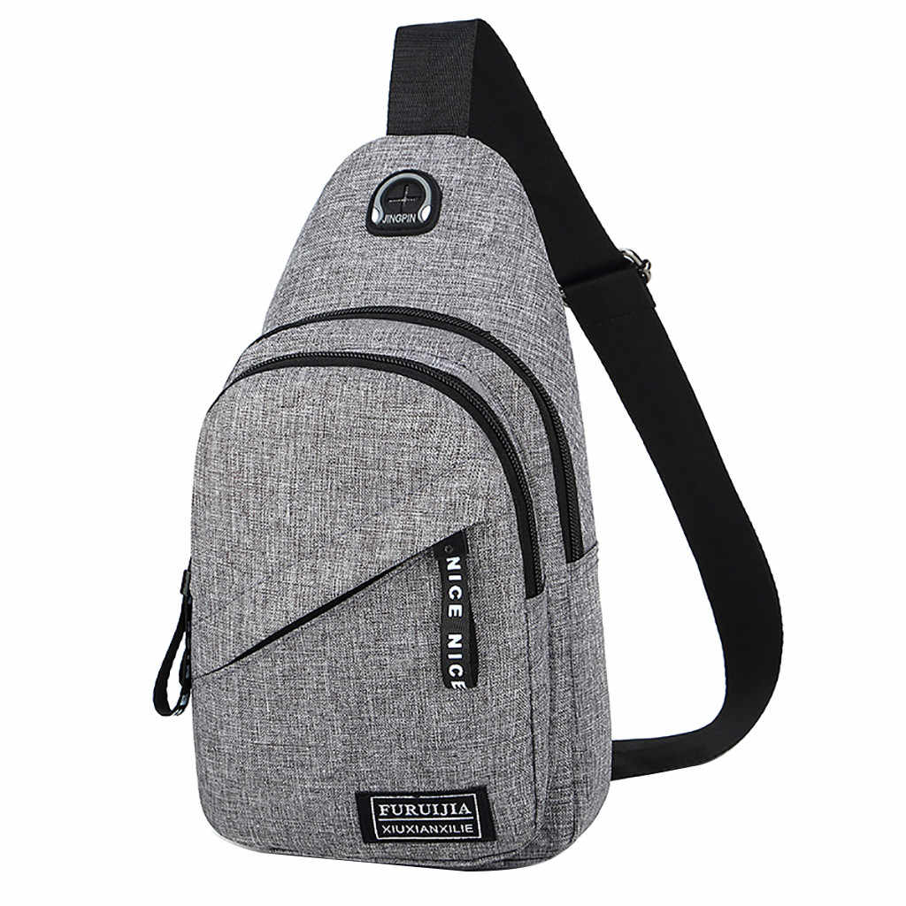 f6698338ad72 Detail Feedback Questions about Fashion casual men chest pack single ...