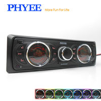 1 Din Авторадио Bluetooth стерео радио RDS FM AM съемный Панель Авто Аудио MP3 игрока в тире головы блок PHYEE SX-MP3382BT