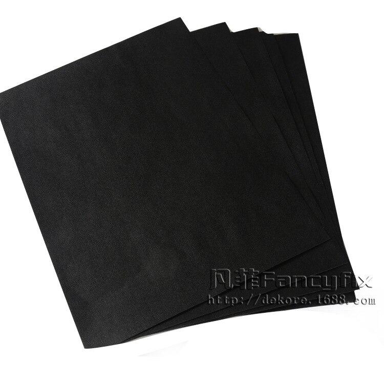 20*30 см креативная мини Съемная тарелка для заметок может быть повторно использована стираемая черная бумага для сообщений Z497