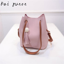 kai yunon Women Tassel Leather Satchel Handbag Shoulder Tote Messenger Crossbody Bag Sep 21