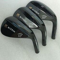 Cooyute новые головки для гольфа Miura черный набор головок для гольфа 52, 54,56, 60 Лофт для клюшек для гольфа без вала Бесплатная доставка