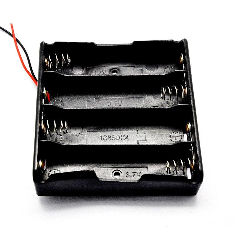 Bilderesultat for Box Case Holder Black For 4Pcs Battery 18650