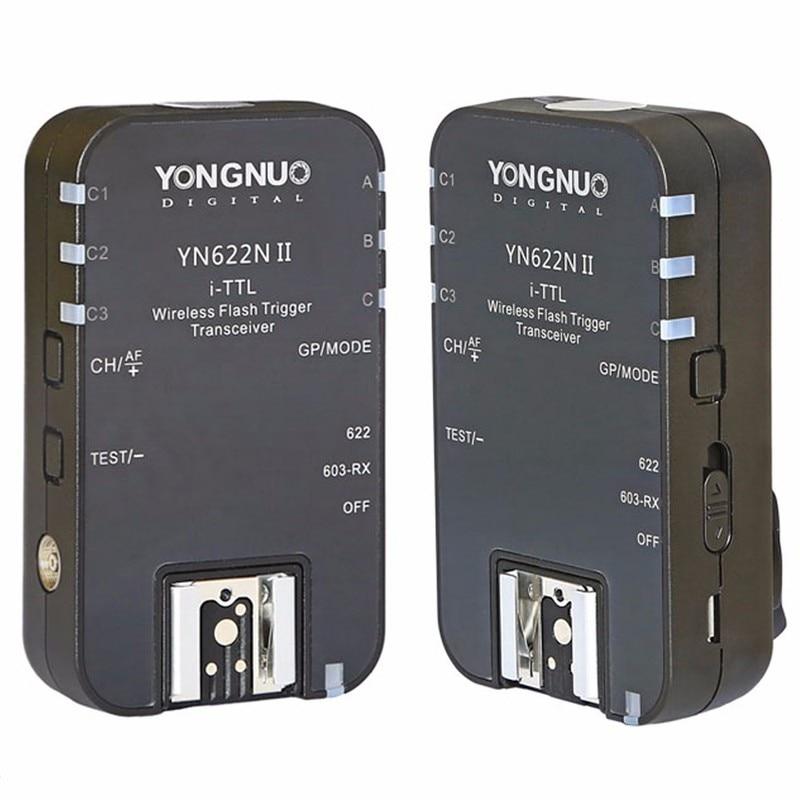 YONGNUO YN 622N II TTL Wireless Flash Trigger for Nikon D800E D800 D700 D600series D300S D200