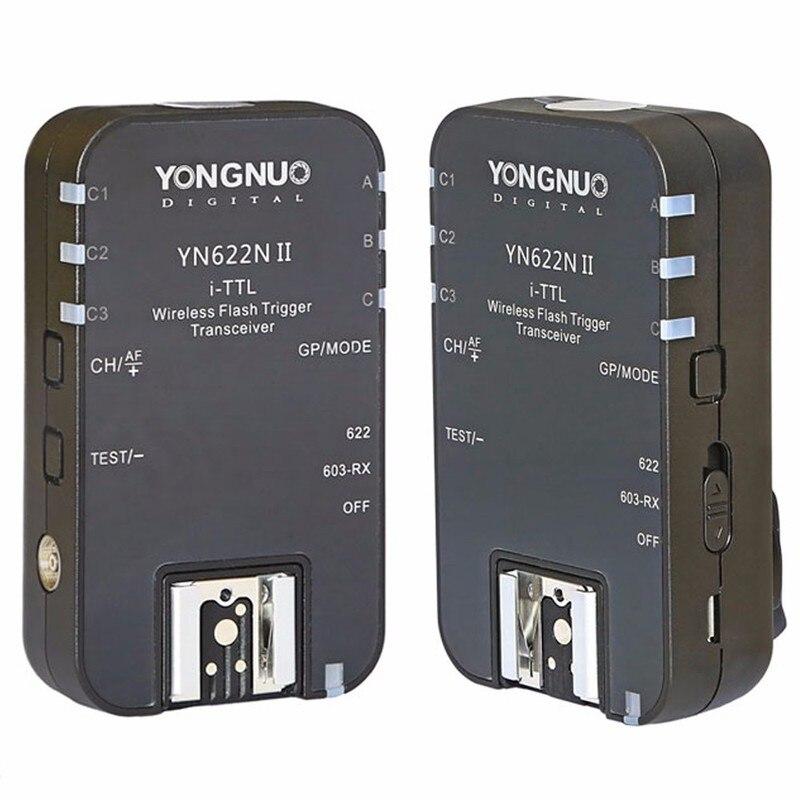 YONGNUO YN 622N II D600series TTL Wireless Flash Trigger per Nikon D800E D800 D700 D300S D200 D7000 D5200 D5100 D3200 D3100-in Scatto automatico da Elettronica di consumo su AliExpress - 11.11_Doppio 11Giorno dei single 1