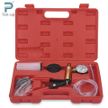 Hand Held Vacuum Pump Tester Set and Brake Bleeder Bleeding Tool Kit Diagnostic Tester Tools for Car Can Bike
