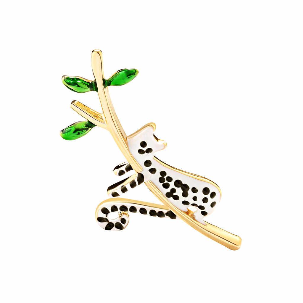 Signore di Arte del Panno di Lusso Animale Uccello Spilla di Modo di Cristallo Multicolore vegetale e animale Libellula Spilla di Rame Retro Y610