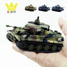 Tanque militar de combate a Control remoto para niños, juguete electrónico blindado para niños, 4 colores