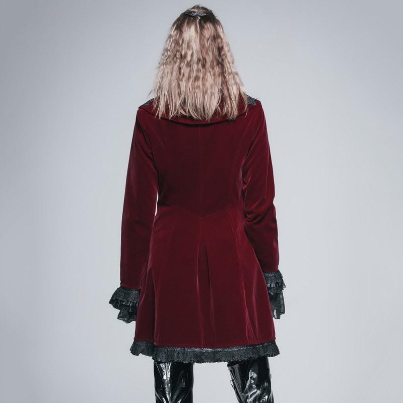 Veshja e gjatë e modës djallëzore e modës djallëzore për femra - Veshje për femra - Foto 3