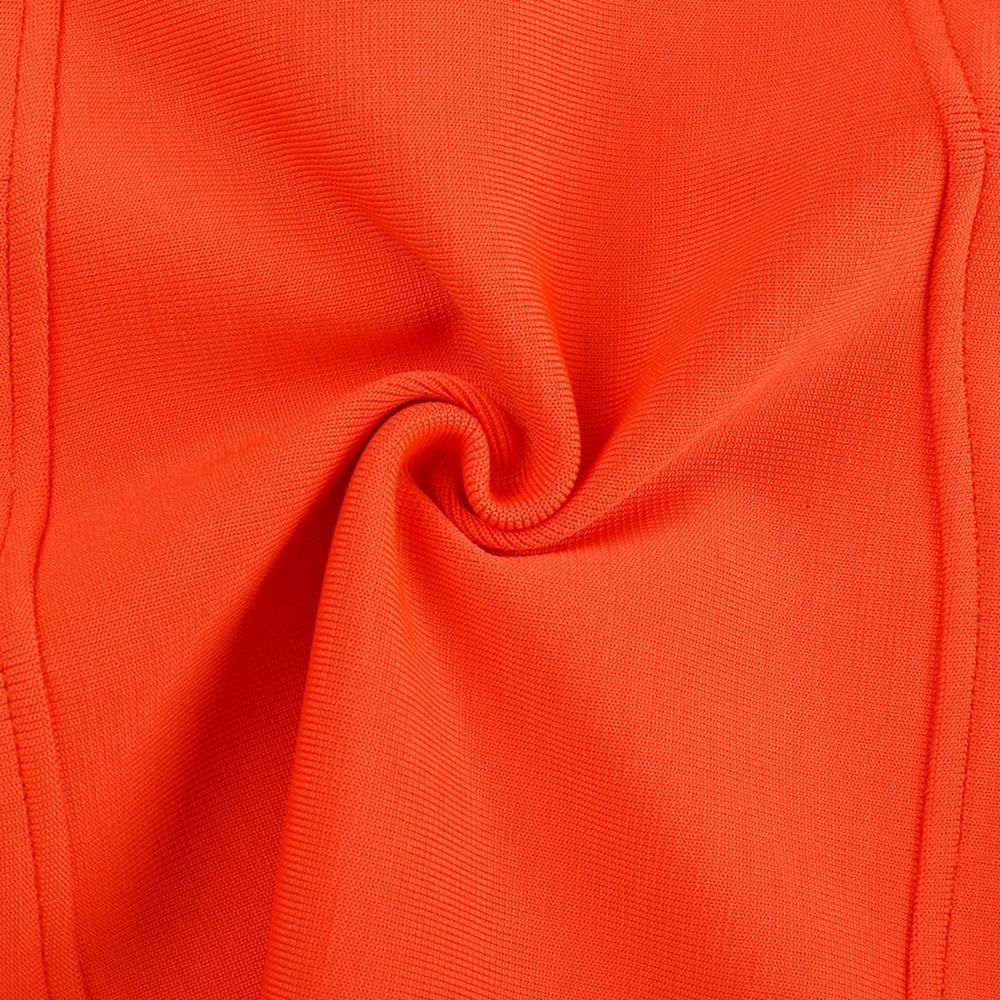 Club Bodycon Orange Summer 12