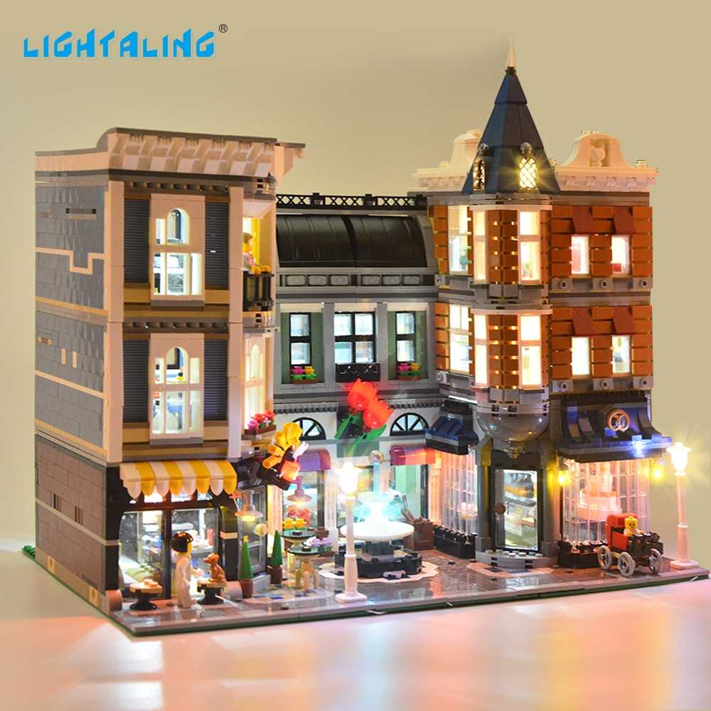 LIGHTALING The Assembly Square Light Set Led Light Kit Compatible With 10255 And 15019 (NOT Include The Model)