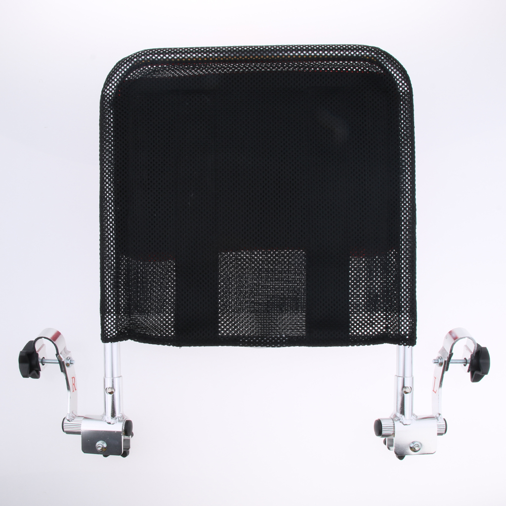 Wheelchair Headrest Support Pillow Adjustable Backrest Cushion for 16 inch 20 inch Mobile Potty Chair Travel