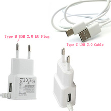 2A EU US Micro USB Mobile Phone Charger Type C USB Cable For HTC U11 One