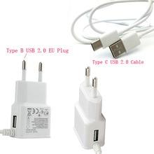 2A ЕС США Micro USB мобильного телефона Зарядное устройство + Тип c USB кабель для HTC u11 +/One M10, onePlus Two, для Galaxy S8 active, для LG V20