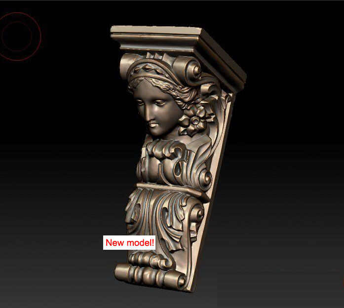 Nuevo Modelo de modelo 3D para impresoras cnc o 3D en formato de archivo STL Sócrates