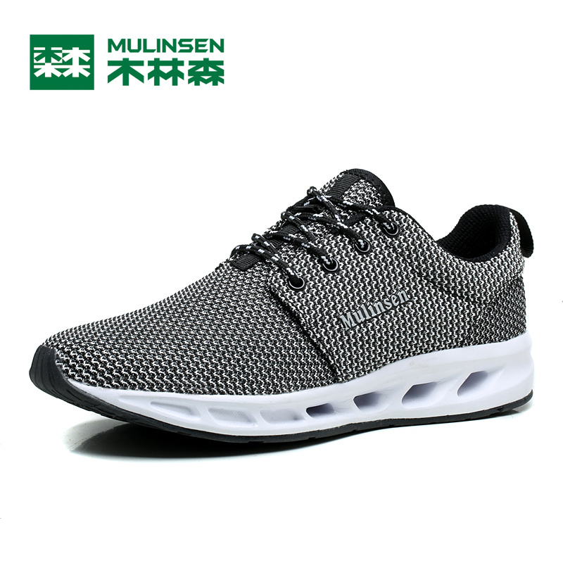 MULINSEN Men & Women Lover Breathe Shoes Sport cushion breathable boating outdoor exercise mesh athletic Running Sneaker 260042 peak sport speed eagle v men basketball shoes cushion 3 revolve tech sneakers breathable damping wear athletic boots eur 40 50