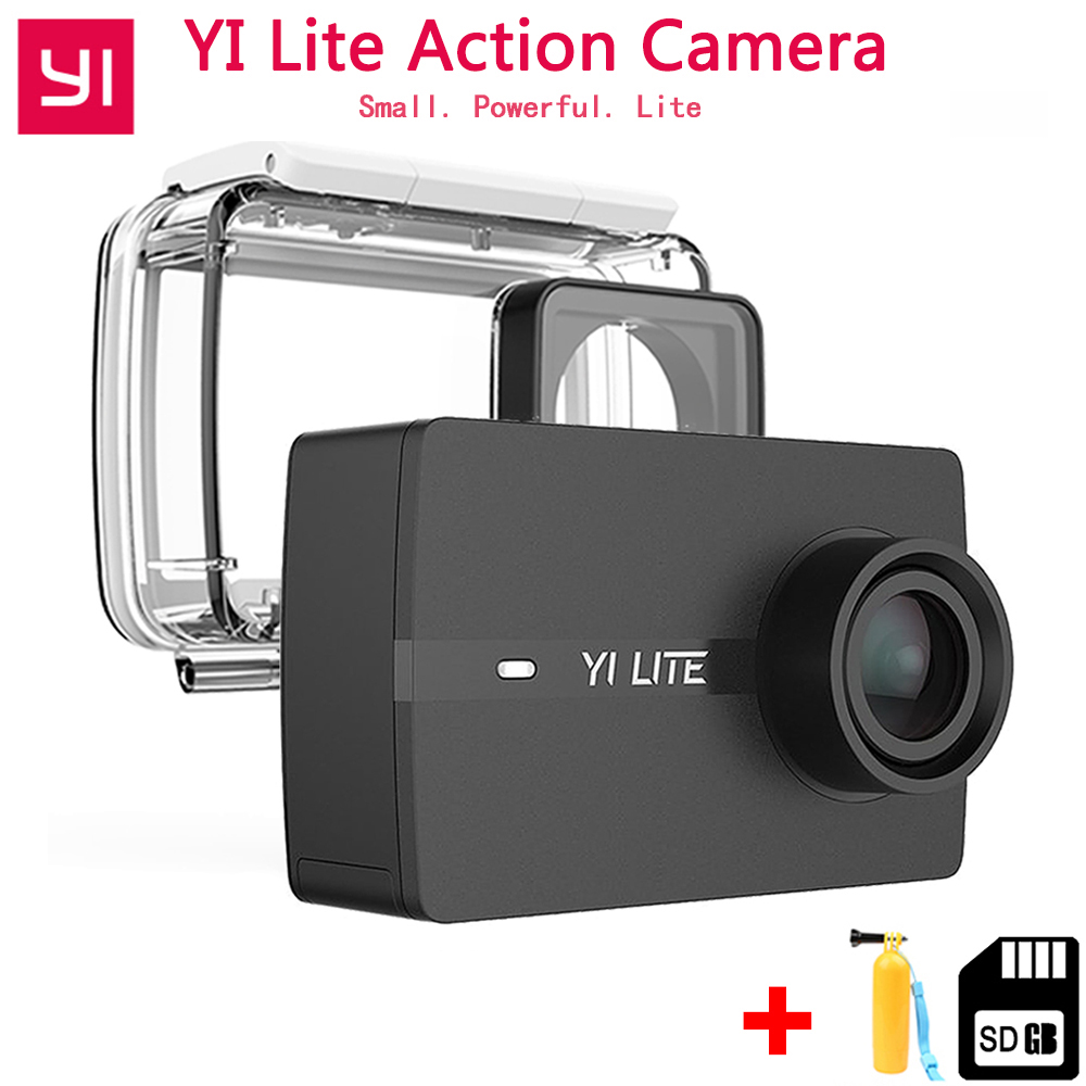 YI Lite Action Camera Real 4K Sportcamera Ondersteuning WiFi - Camera en foto
