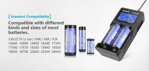 Image 4 - Xtar VC2 VC4 バッテリー充電器ユニバーサル液晶画面ディスプレイ usb ニッケル水素/ニカドリチウムイオン 18650 20700 21700 22650 26650 18500 18700 16340