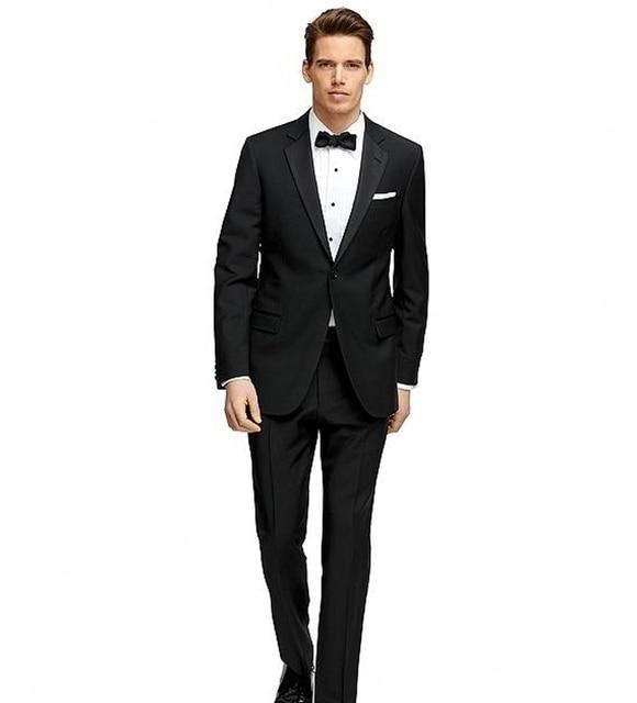 Alta Calidad 2017 Nuevos Mens Slim Fit Trajes Chaqueta + Pantalones por Encargo Del Novio de La Boda Trajes Para Hombre Vestido de Negocios Formal traje