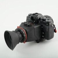 Kamerar QV-1 lcd المشاهد رأي مكتشف لكانون 5d مارك الثالث الثاني 6d 7d 60d 70d ، نيكون d800 d800e D7200 d610 d600 d90