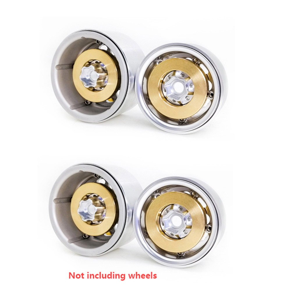 Clearance Offer of  Brass Internal Counterweight for 1.9 2.2 inch Wheel Rims Axial SCX10 90046 D90 TF2 Traxxas TRX4 For